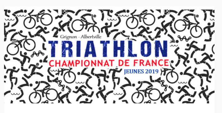 Championnat France Jeunes Triathlon Grignon.