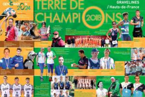 Cérémonie terre de Champion sur Saison 2019.