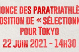 Annonce des sélectionnables – Equipe de France ParaTriathlon !